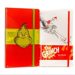 Moleskine Limited Edition GRINCH Notebook Set NEW